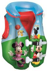 Chaleco Hinchable Mickey Mouse Clubhouse 51x46 cm. Bestway 91030