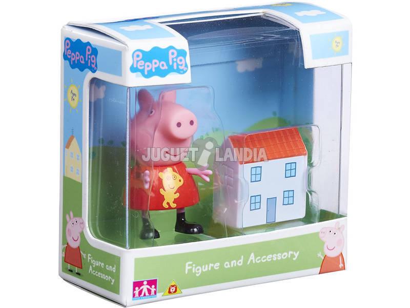 Peppa Pig Figura Con Accesorios Bandai 06381