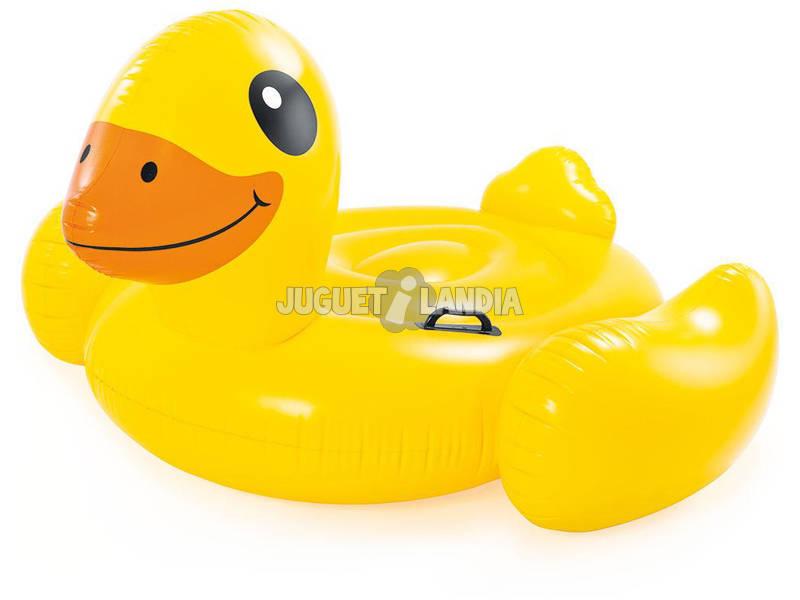 Flutuante Inflável Infantil Pato Amarelo 147x147x81 cm. Intex 57556