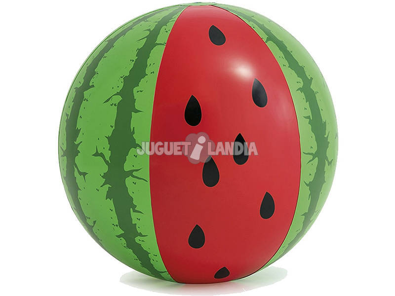 Bola inflável Sandia de 107 cm. Intex 58071