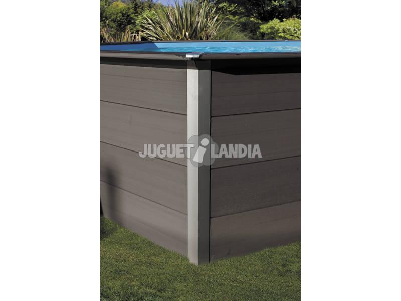 Acheter piscine en bois composite rectangulaire 606 x 326 for Acheter piscine bois