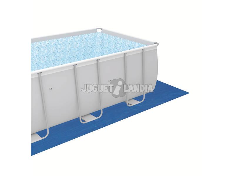 Piscina desmontable 488x488x122 cm bestway 56626 for Juguetilandia piscinas desmontables