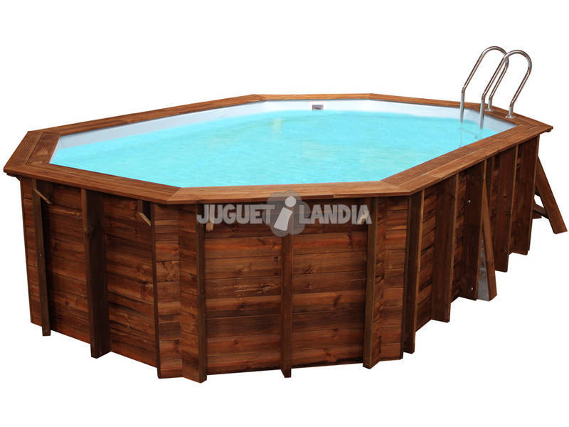 Piscina Oval Madeira Cannelle 551x351x119 Cm. Gre 790087