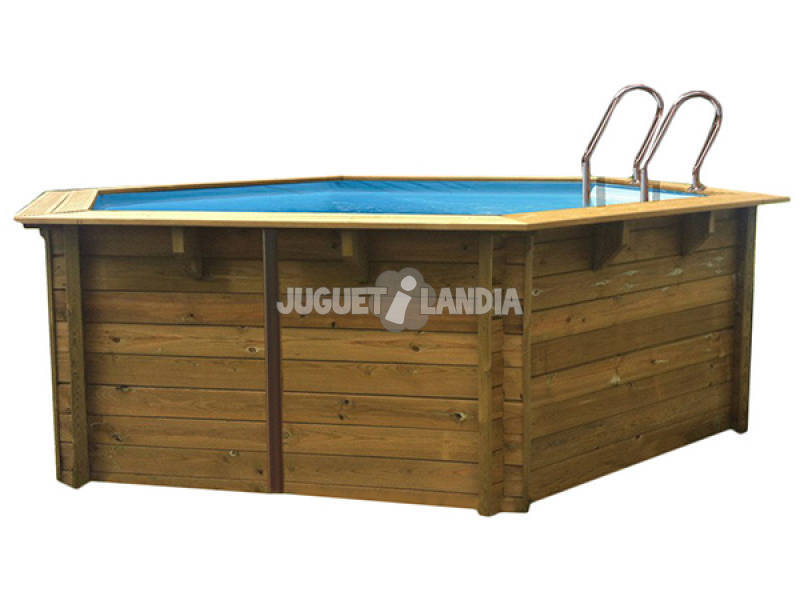 Violette Wood Round Pool 511x124 Cm. Gre 790085