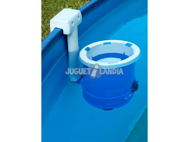 Piscina redonda splasher 350x120 cm gre kitpr35501 for Juguetilandia piscinas desmontables