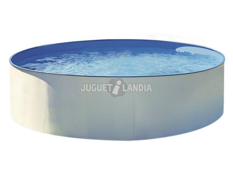 Splasher redondo da piscina 460x120 Cm. Gre Kitpr4550e