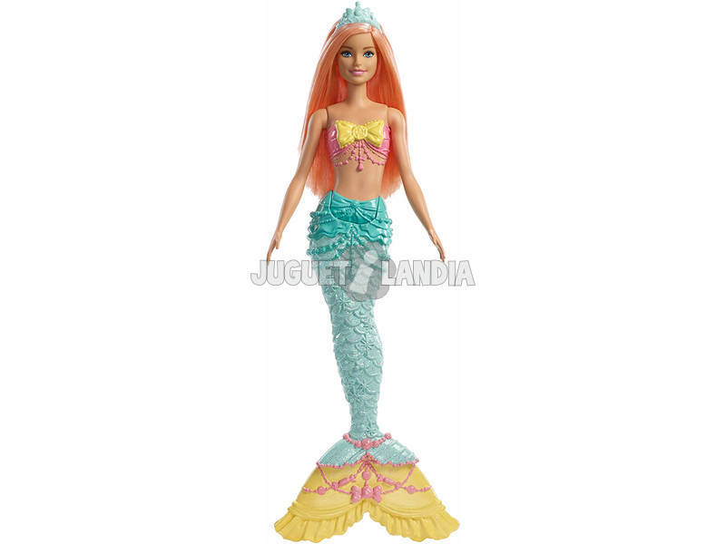 Barbie Sirenas Dreamtopia Mattel FXT08