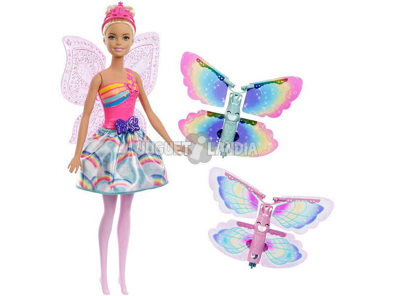 Barbie Magia Asas Loira Mattel FRB08