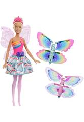 imagen Barbie Alas Mágicas Rubia Mattel FRB08