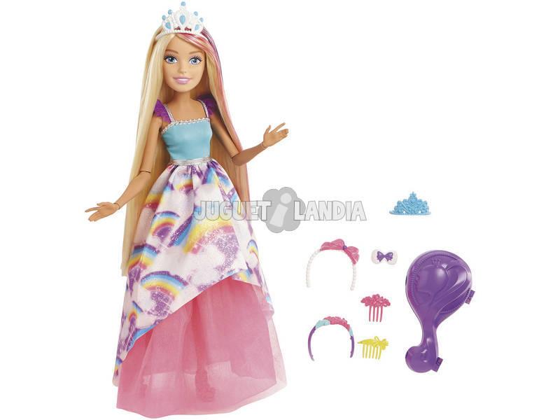 Barbie Principessa Grande dal Mondo di Dreamtopia Mattel FXC80