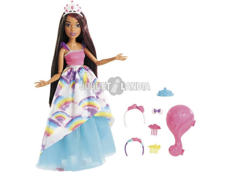 Barbie Gran Princesa Morena Mattel FXC81