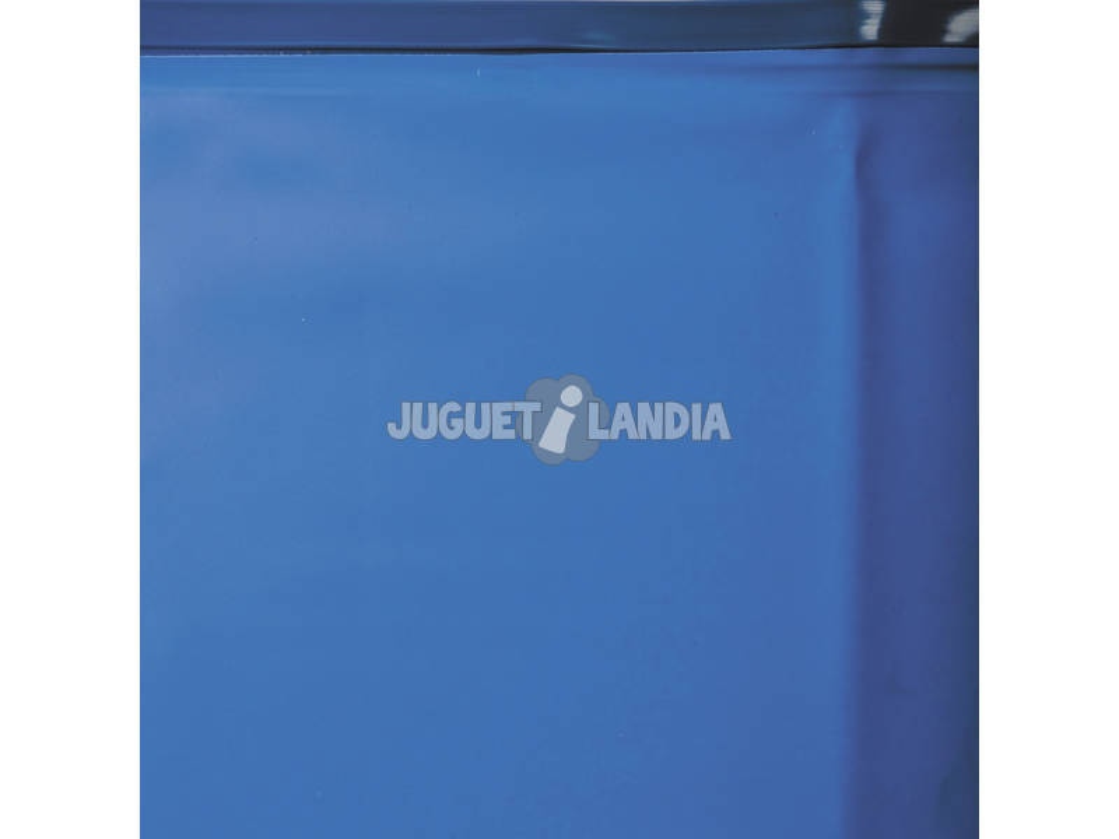 Forro Azul Para Piscina De Madeira 511x124 Cm. Gre 783885
