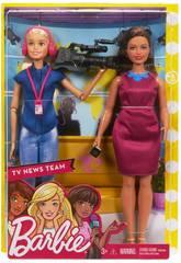 Barbie Nachrichtensprecherin Mattel FJB22