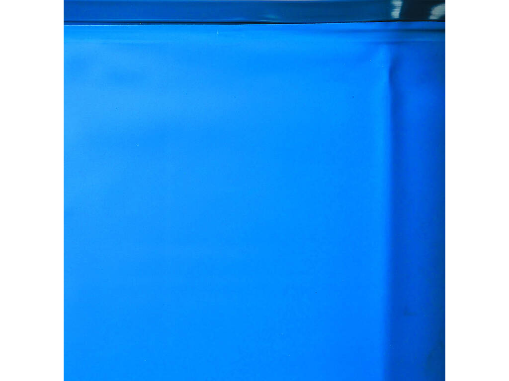 Forro Azul Para Piscina De Madeira 412x119 Cm. Gre 778689