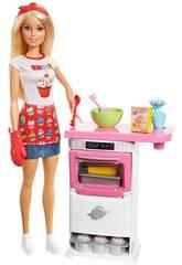 imagen Barbie y Su Pastelería Mattel FHP57