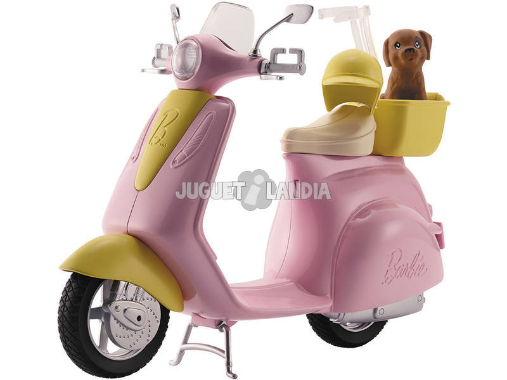 Barbie Scooter con Cucciolo Mattel FRP56