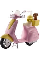 imagen Barbie Moto con Mascota Mattel FRP56