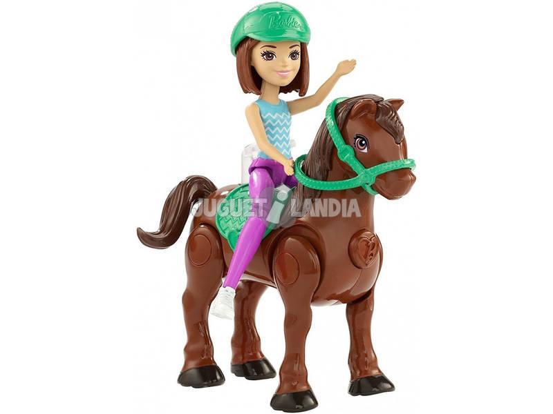 Barbie On The Go Muñeca Con Mini Poni Surtido Mattel FHV60