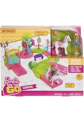 Barbie On The Go Parque De Atracciones Mattel FHV70