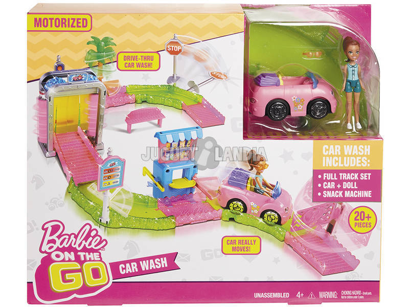 Barbie On The Go Car Wash (Parti e Vai Autolavaggio) Mattel FHN91