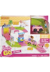 imagen Barbie On The Go Tunel De Lavado Mattel FHN91