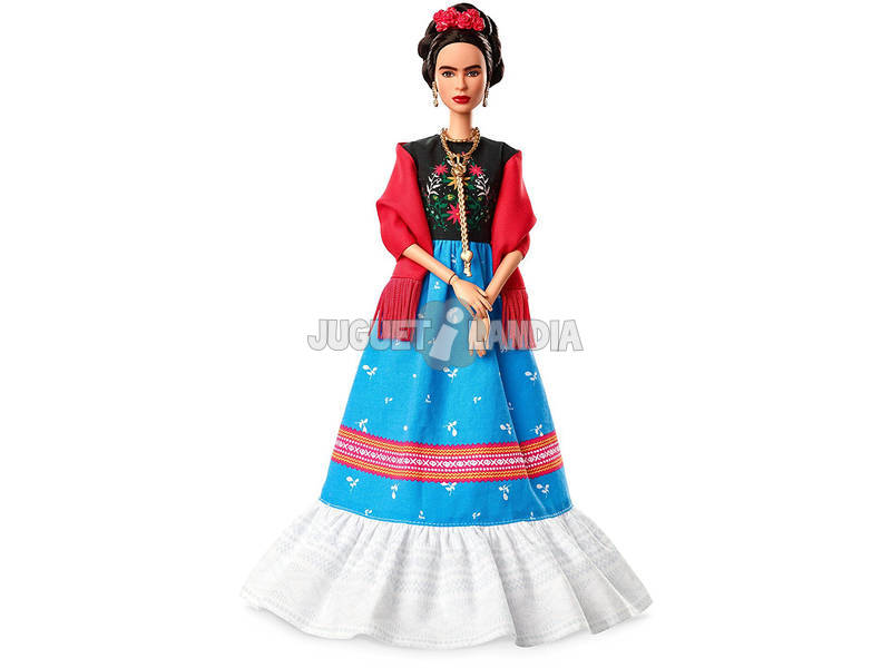 Barbie Collectors Frida Kahlo Riproduzione Celebrativa da Collezionare Mattel FJH65