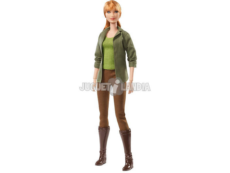 Barbie Signature Jurassic World Claire bambola Mattel FJH58