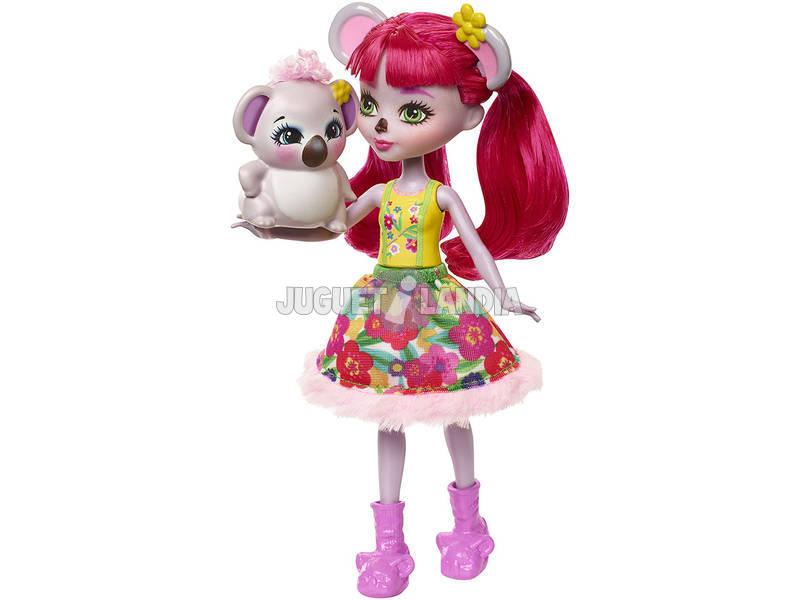 Boneca e mascote Enchantimals Karina Koala e Dab Mattel FNH24