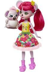 imagen Enchantimals Muñeca y Mascota Karina Koala y Dab Mattel FNH24