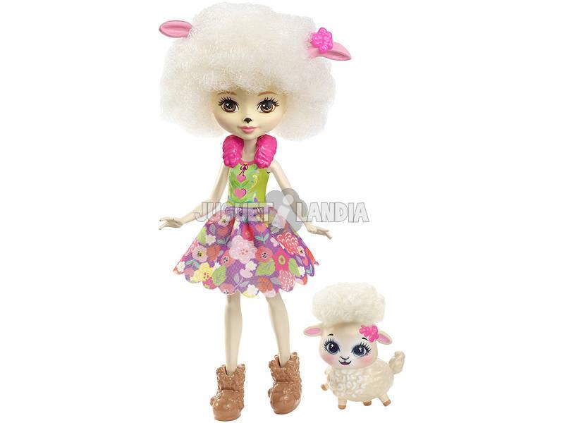 Enchantimals Muñeca y Mascota Lorna Cordero FNH25