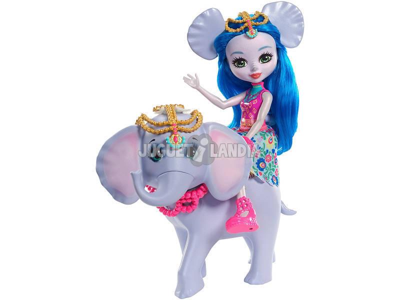 Enchantimals Boneca Ekaterina e Elefante Mattel FKY73