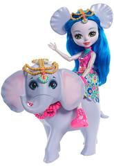 imagen Enchantimals Muñeca Ekaterina y Elefante Mattel FKY73