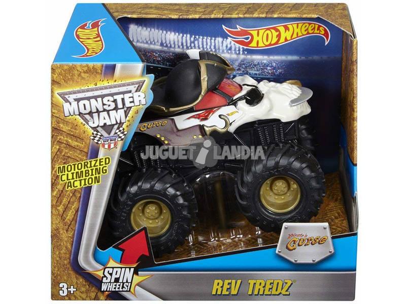 Hot Wheels Monster Jam Rev Tredz Vehículo Mattel CHV22