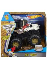 Hot Wheels Monster Jam Rev Tredz Vehículo Mattel CHV22