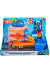 Hot Wheels City Super Set Playset Mattel FNB15