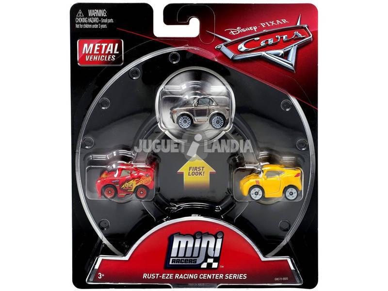 Pack 3 Cars Mini Racers Mattel FLG67