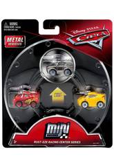 PACK 3 CARS MINI RACERS Mattel FLG67
