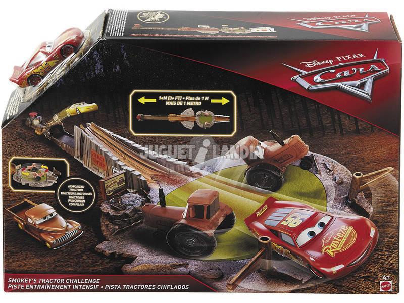 Disney Cars Pista Sfida Smokey Mattel FLK03