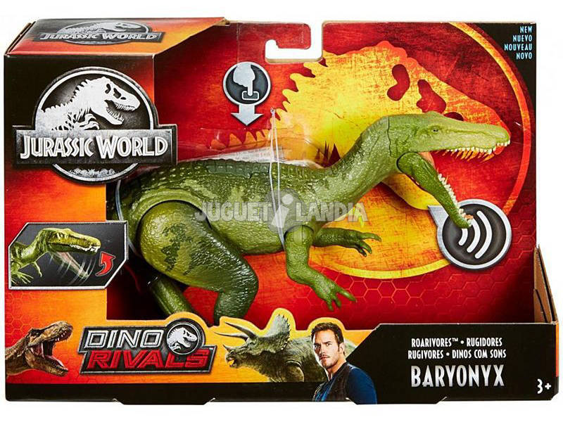 Jurassic World Dino Sons Mattel FMM23