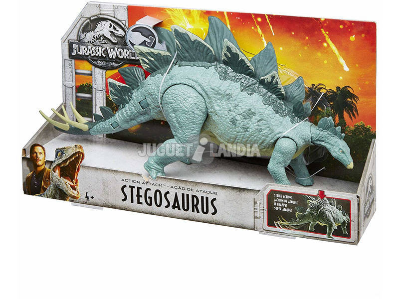 acheter jurassic world figurine dino attaque mattel fmw87 juguetilandia. Black Bedroom Furniture Sets. Home Design Ideas
