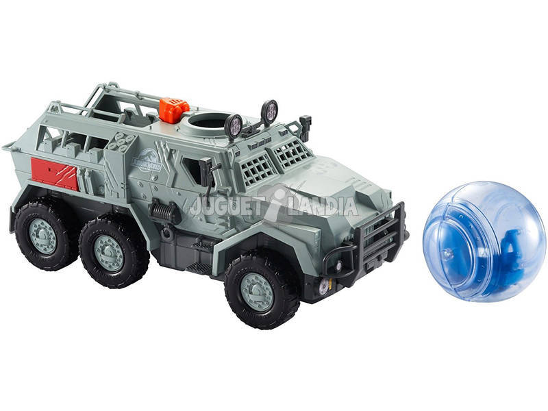 Jurassic World Gyrosphere Blast Vehicle Mattel FMY86