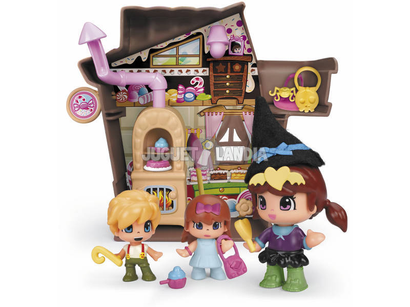 PinyPon Casa de Hansel e Gretel Famosa 700014084