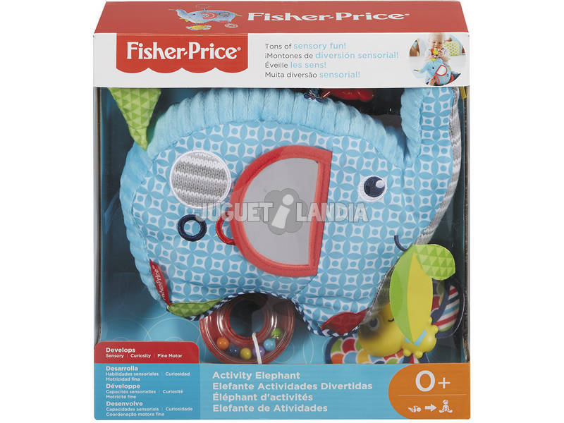 Fisher Price Elefante Activity Mattel FDC58
