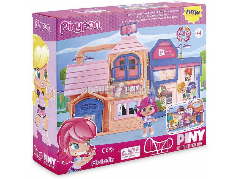 Pinypon Piny Casa de Estudantes Famosa 700014148