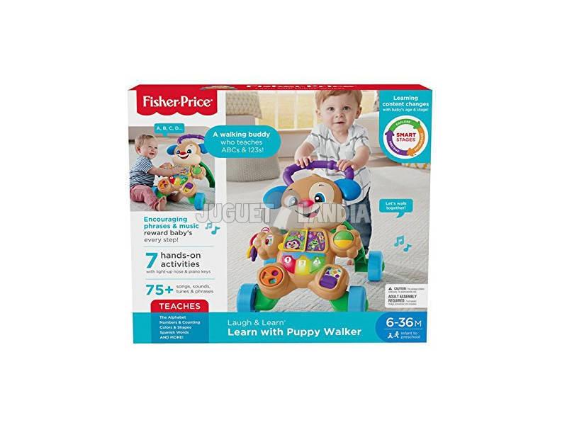 Fisher-Price Deambulatore Perrito PRIMEROS PASOS, bambino Versione castigliana Mattel FRC85