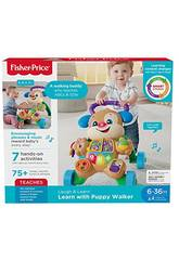 Fisher Price Walker Filhote de Cachorro Primeiros Passos Mattel FRC85