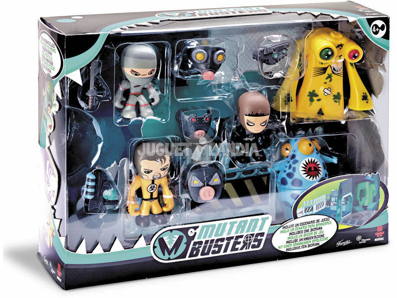 Mutant Busters Set de Batalla Serie 2 Famosa 700012991
