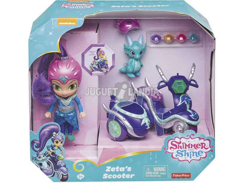 Shimmer and Shine Zeta y Su Moto Mattel FHN31