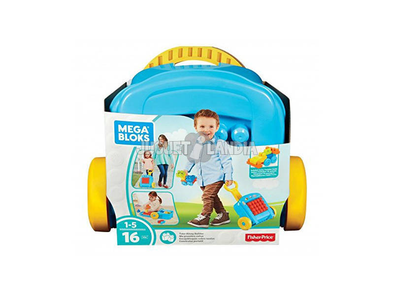 Encajables Mega Bloks Sobre Ruedas Mattel FLT37