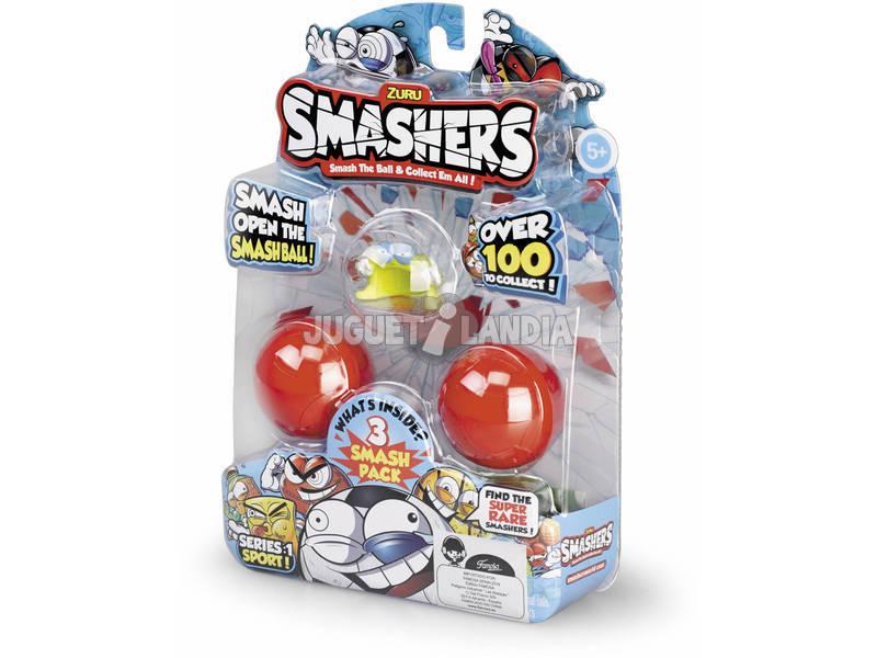 Smashers Confezione di personaggi Pack de 3 Famosa 700014386